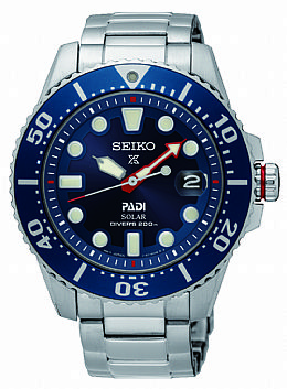 SEIKO Prospex series PADI watch