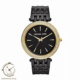 Darci Black Stainless Steel Watch