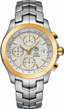 TAG HEUER LINK AUTOMATIC CHRONOGRAPH TWO-TONE
