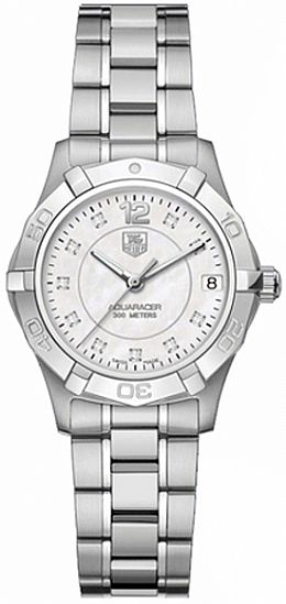 TAG HEUER AQUARACER LADIES WITH DIAMONDS
