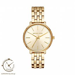 Pyper Gold Tone Watch