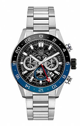 CARRERA CALIBRE HEUER 02 GMT Automatic Chronograph