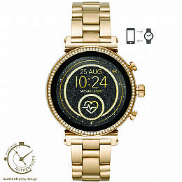 Access Sofie Gold Tone Smartwatch