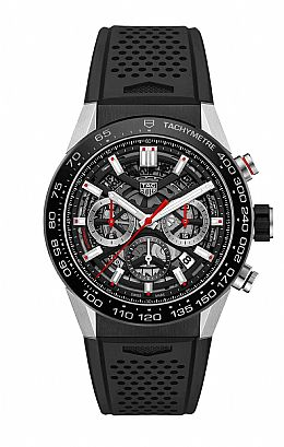 New CARRERA CALIBRE HEUER 02 Automatic Chronograph