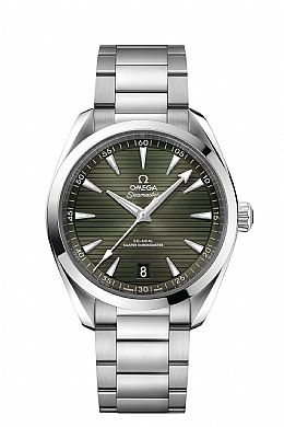 New Seamaster AQUA TERRA 150M OMEGA CO-AXIAL MASTER CHRONOMETER 41 MM